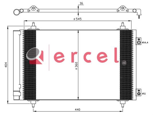 Airco condensor CIC 586