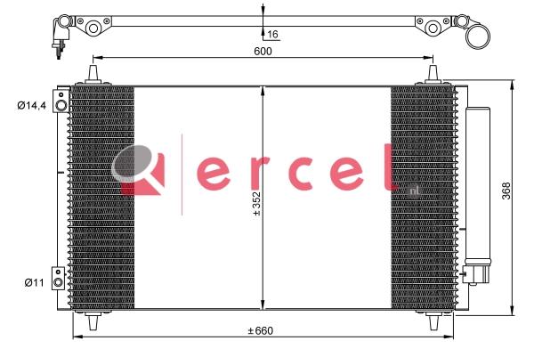 Airco condensor CIC 587