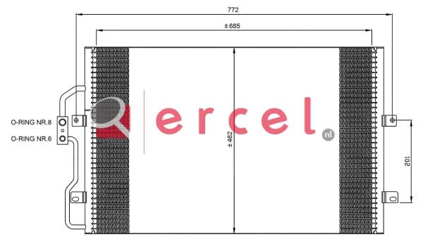 Airco condensor CIC 516