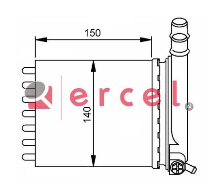 Kachelradiateur CIH 258