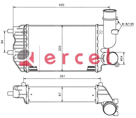 Interkoeler CII 418