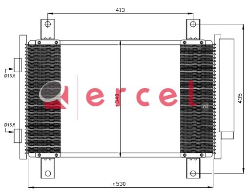 Airco condensor CIC 584
