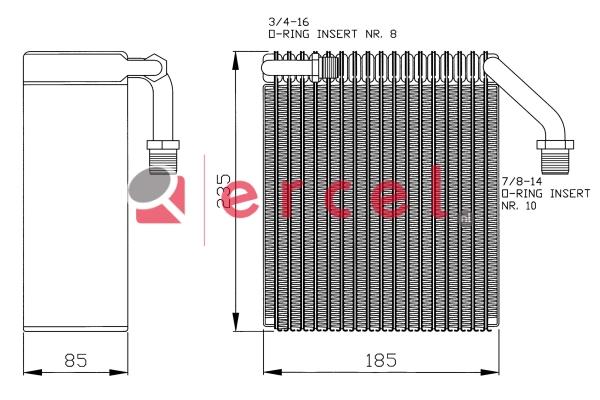 Airco verdamper PEV 019