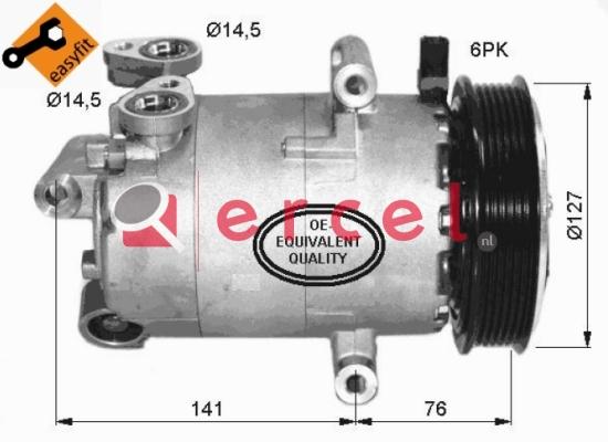 Airco compressor CIK 031