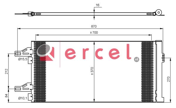 Airco condensor CIC 574