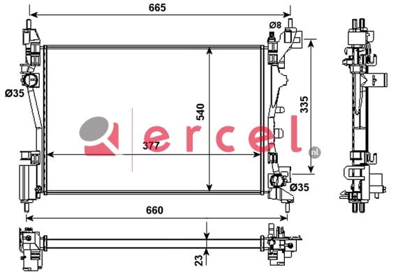 Radiateur FIR 705