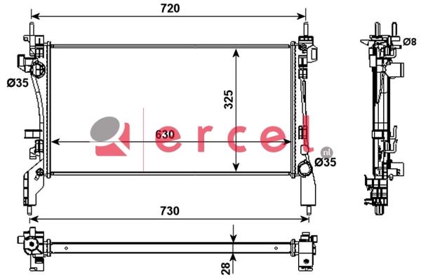Radiateur PER 146