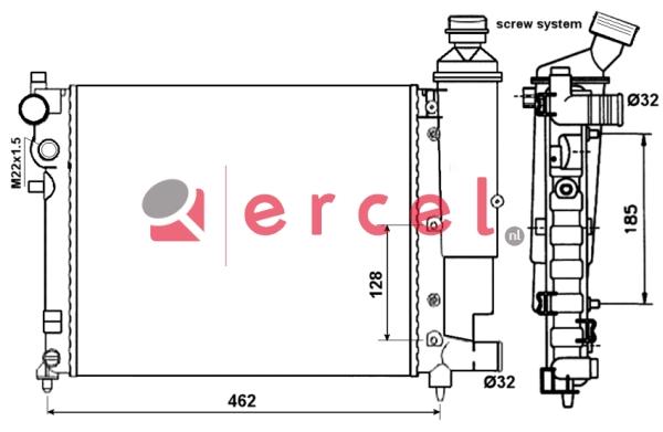 Radiateur CIR 035