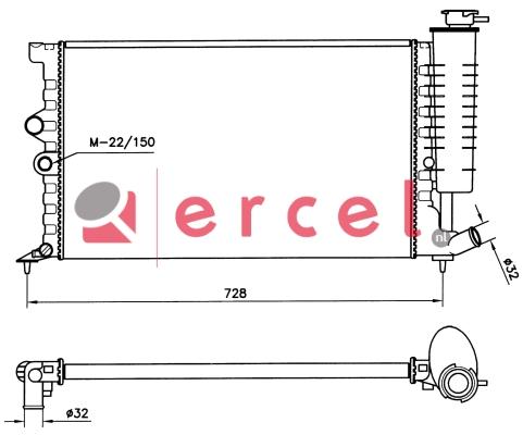Radiateur PER 062