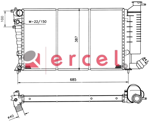 Radiateur CIR 021