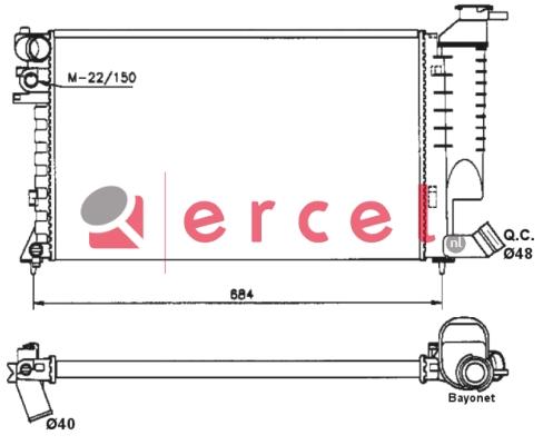 Radiateur PER 114