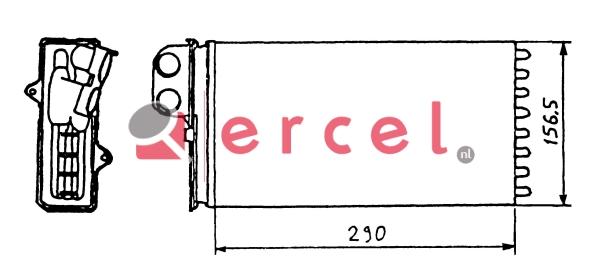 Kachelradiateur CIH 208