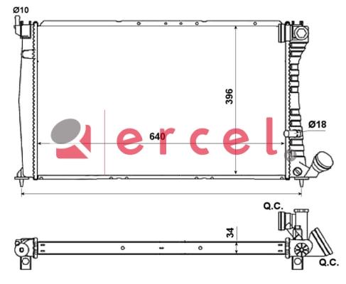 Radiateur PER 069