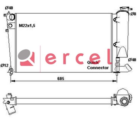 Radiateur PER 022