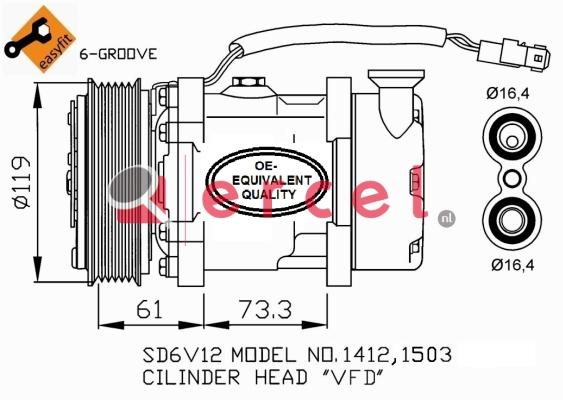 Airco compressor CIK 005