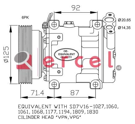 Airco compressor REK 099
