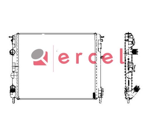 Radiateur RER 155