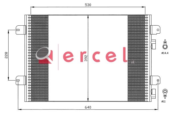 Airco condensor REC 517