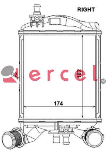 Interkoeler FII 468