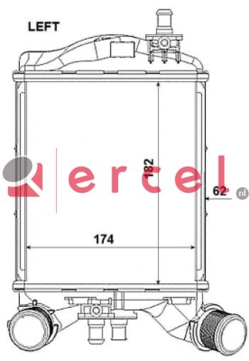Interkoeler FII 470