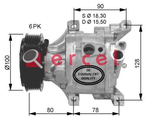 Airco compressor FIK 024
