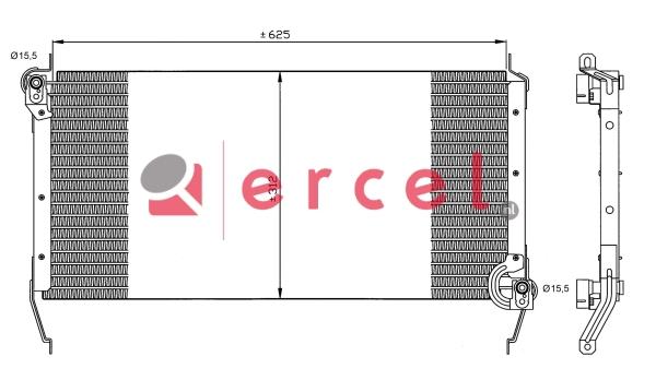 Airco condensor FIC 560