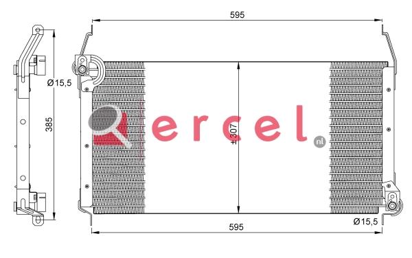 Airco condensor FIC 530