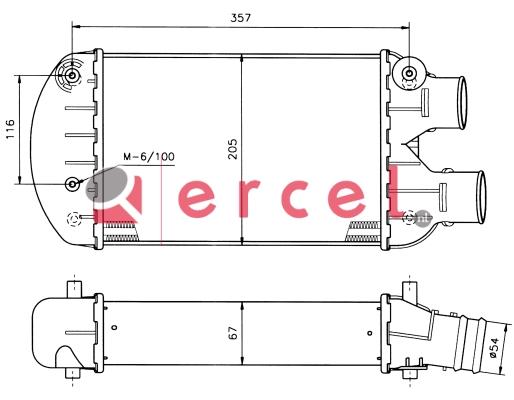 Interkoeler FII 428