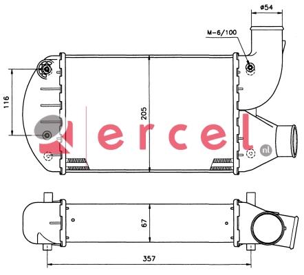 Interkoeler FII 432