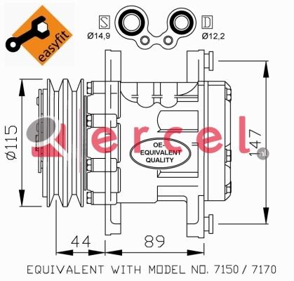 Airco compressor FIK 002