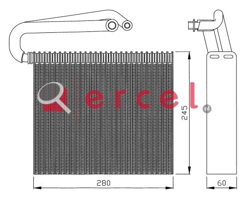 Airco verdamper OPV 019